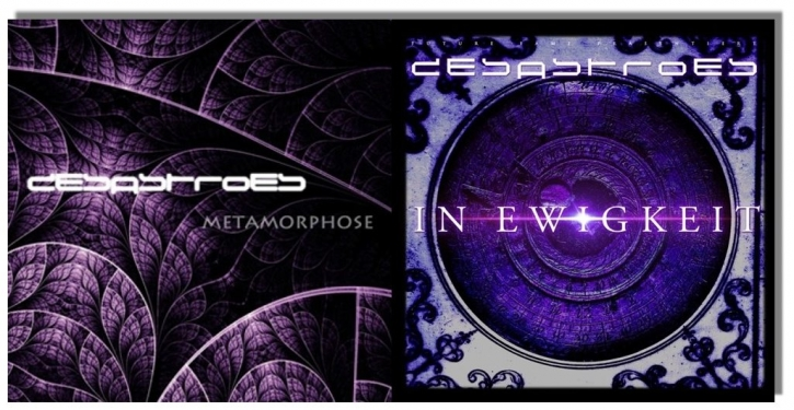 DESASTROES Metamorphose & In Ewigkeit 2CD SET