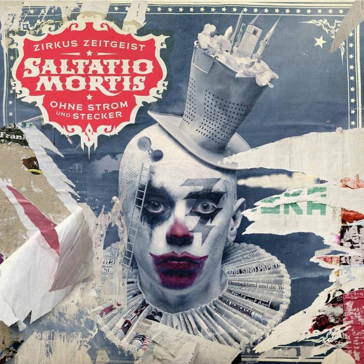 SALTATIO MORTIS Zirkus Zeitgeist -Ohne Strom und Stecker 2CD DELUXE EDITION 2015