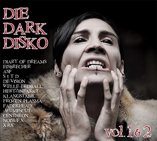 DIE DARK DISKO 01+02 2CD BOX 2015 ASP DIARY OF DREAMS Eisbrecher SHE PAST AWAY