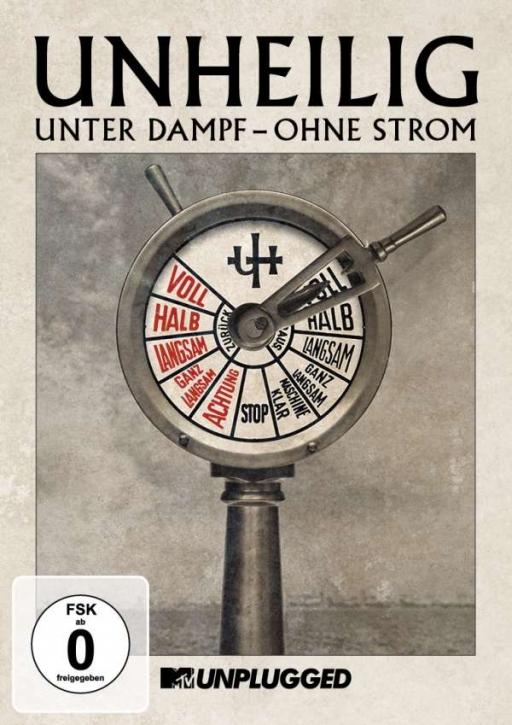 """UNHEILIG MTV Unplugged """"Unter Dampf - Ohne Strom"""" 2DVD 2015"""