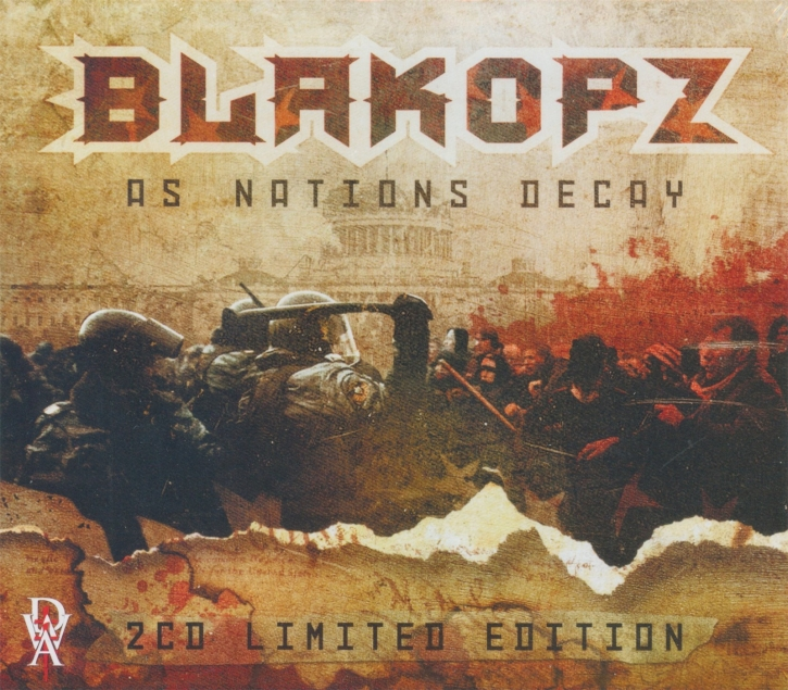BLAKOPZ As Nations Decay 2CD 2015 LTD.100