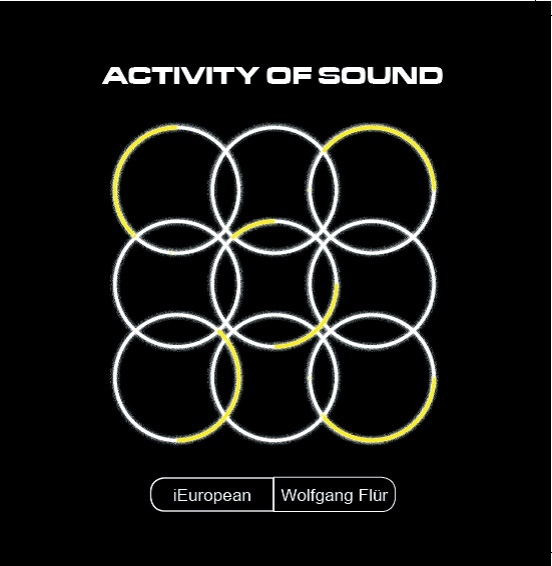"I EUROPEAN feat. WOLFGANG FLÜR Activity of Sound 12"" VINYL LTD.300 KRAFTWERK"