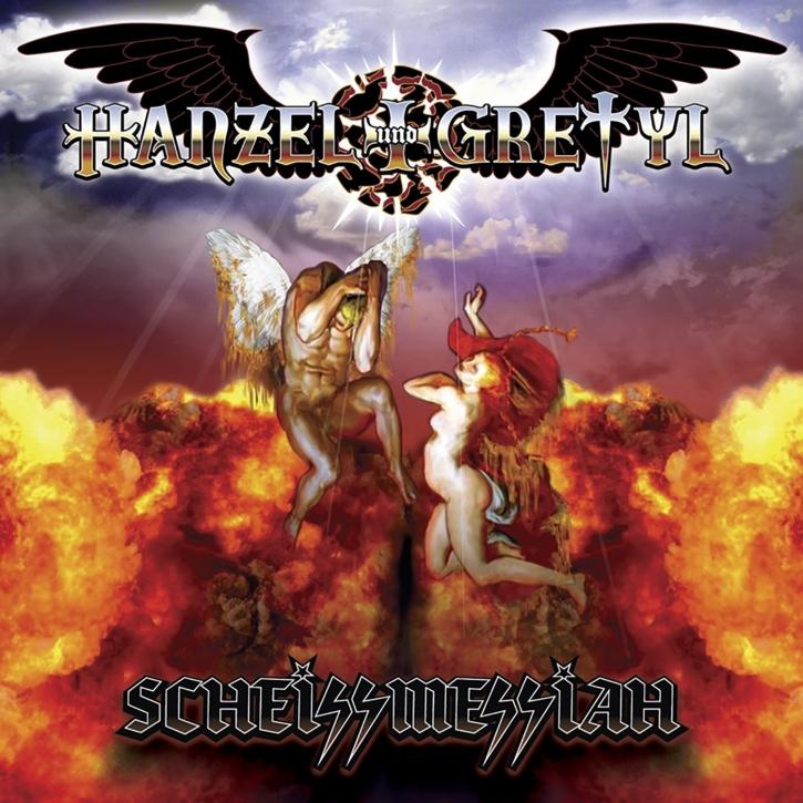 HANZEL UND GRETYL Scheissmessiah CD 2004