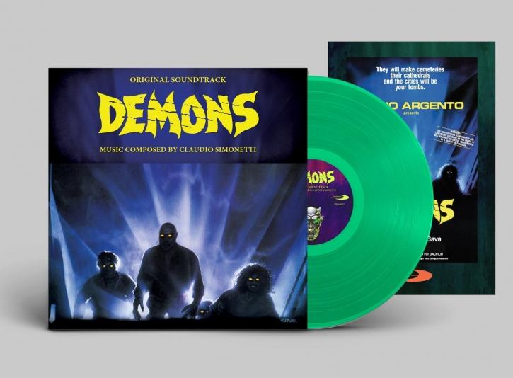 CLAUDIO SIMONETTI [GOBLIN] Demons LIMITED LP GREEN VINYL + POSTER 2016