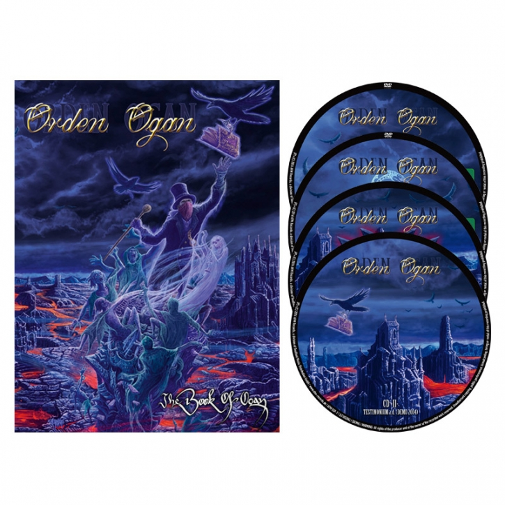 ORDEN OGAN The Book Of Ogan 2DVD+2CD BOX 2016