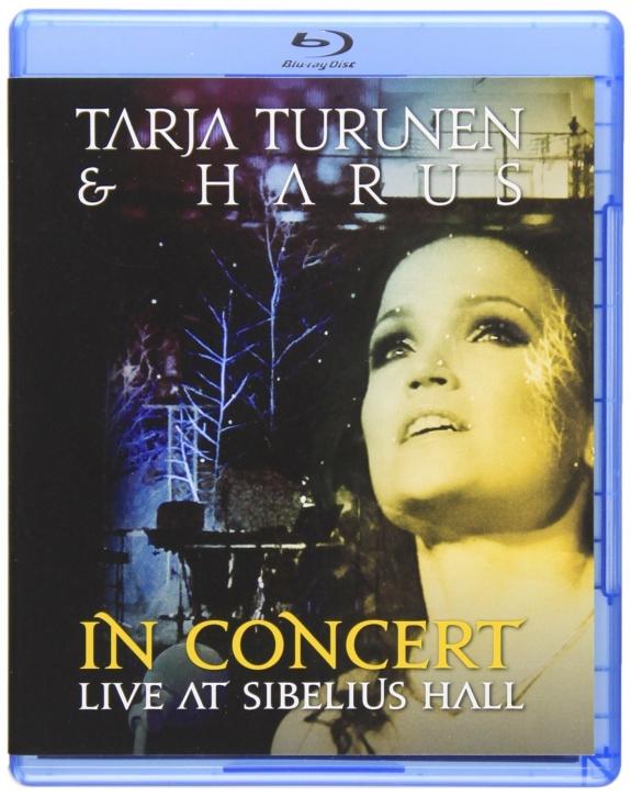 TARJA TURUNEN & HARUS In Concert - Live At Sibelius Hall BLU-RAY+CD 2011