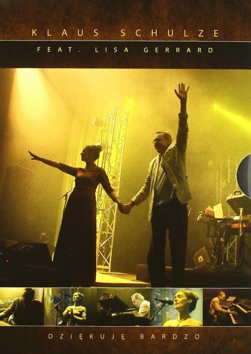KLAUS SCHULZE & LISA GERRARD Dziekuje Bardzo DVD 2009