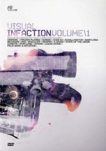 VISUAL INFACTION DVD 2008 Grendel SOMAN Frozen Plasma IRIS