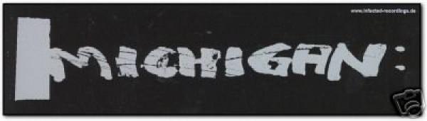 MICHIGAN Aufkleber 15 x 4 cm