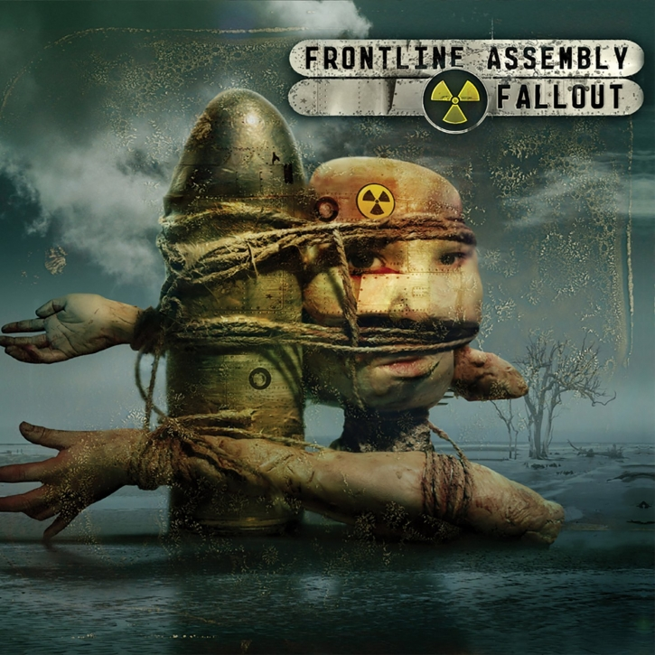 FRONT LINE ASSEMBLY Fallout LIMITED CD Digipack 2007