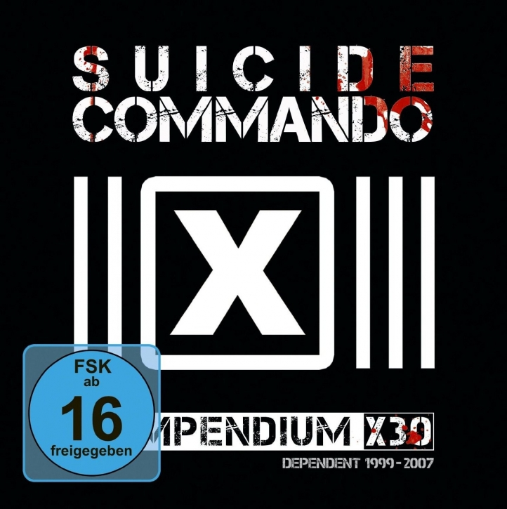 SUICIDE COMMANDO Compendium X30 LIMITED 9CD+DVD BOX 2016