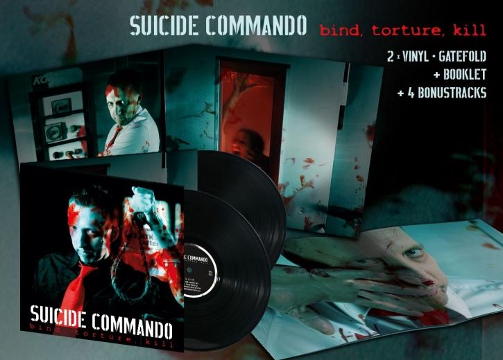SUICIDE COMMANDO Bind, Torture, Kill 2LP VINYL 2016 LTD.500
