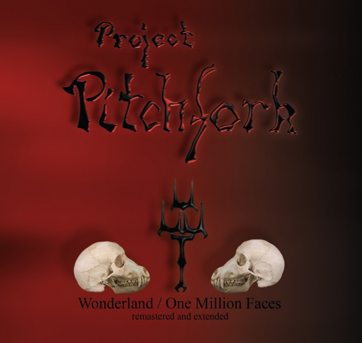 PROJECT PITCHFORK Wonderland/One Million Faces (Remastered & Extended) CD 2016