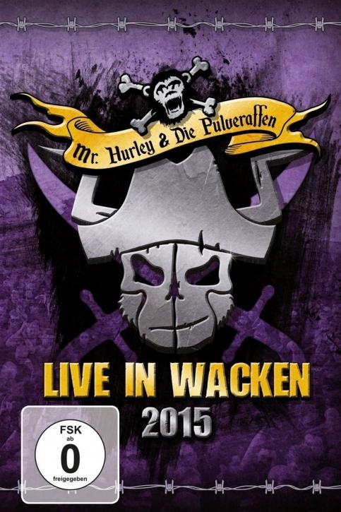 MR.HURLEY & DIE PULVERAFFEN Live In Wacken 2015 DVD 2016
