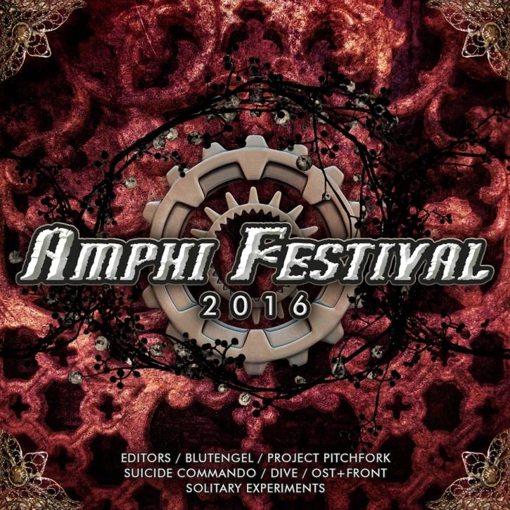 AMPHI FESTIVAL 2016 CD Blutengel MONO INC. Joachim Witt DIVE Unzucht