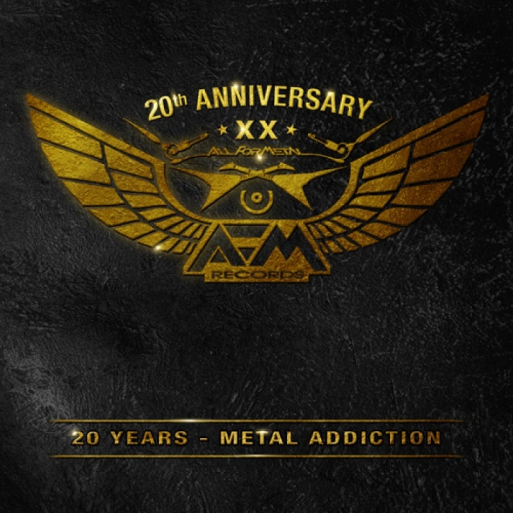 20 YEARS - METAL ADDICTION 3CD 2016 Tanzwut STAHLMANN Ministry ORDEN OGAN