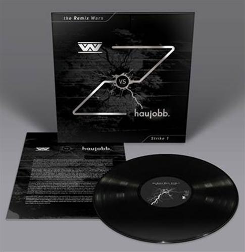 WUMPSCUT vs. HAUJOBB The Remix Wars: Strike 1 LP BLACK VINYL 2016
