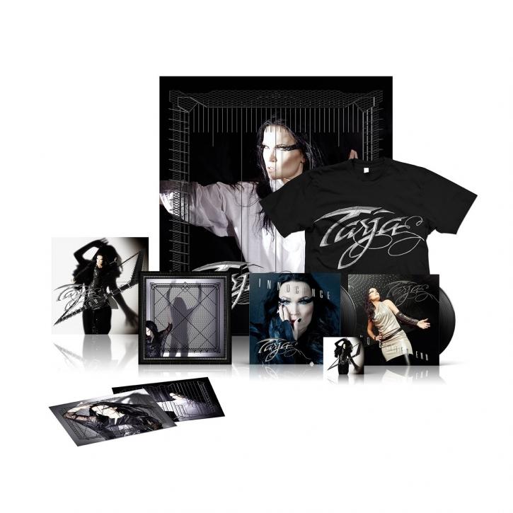 """TARJA (ex-Nightwish) The Shadow Self LTD.BOXSET CD+DVD + 2x 7""""VINYL+CD + T-SHIRT"""