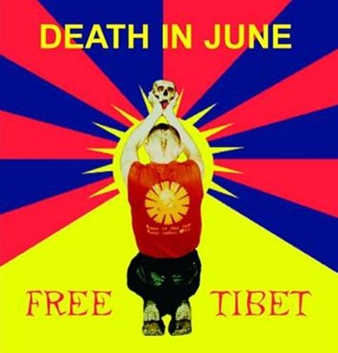 DEATH IN JUNE Free Tibet CD 2016 LTD.1000