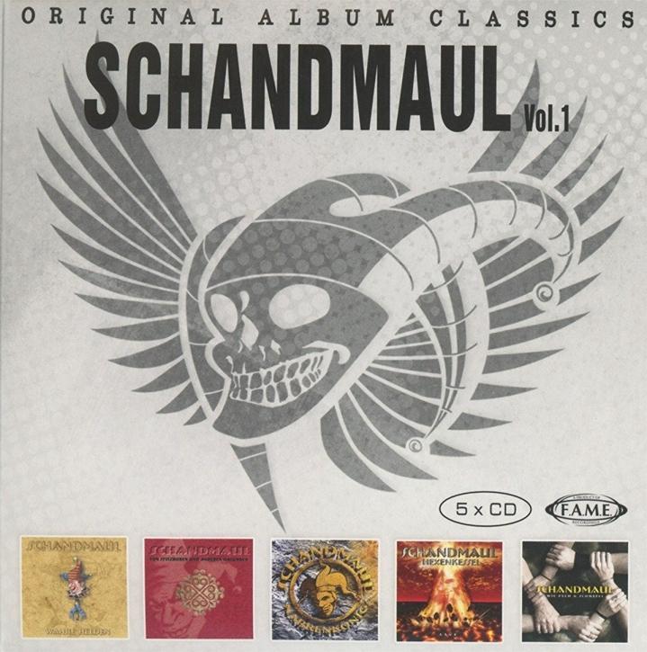SCHANDMAUL Original Album Classics Vol.1 5CD BOX 2016