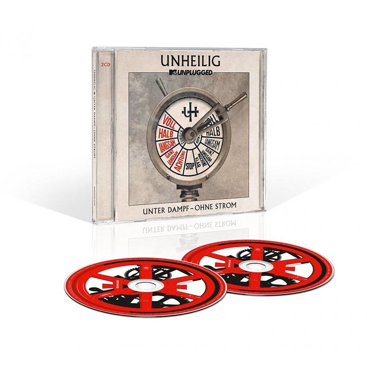 "UNHEILIG MTV Unplugged ""Unter Dampf - Ohne Strom"" 2CD 2015"