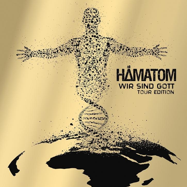 HÄMATOM Wir sind Gott – TOUR EDITION (Re-Release) CD+DVD Digipack 2019