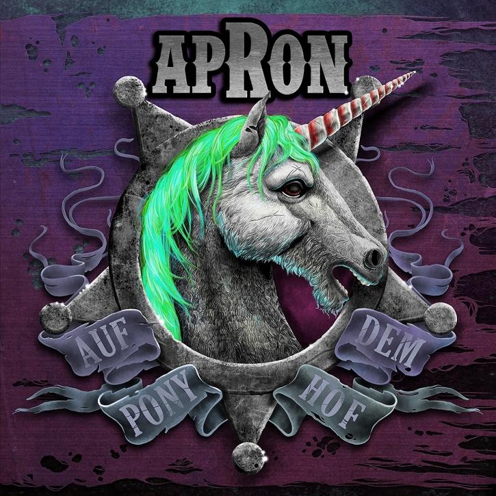 APRON Auf Dem Ponyhof 2LP VINYL+CD 2017 LTD.500