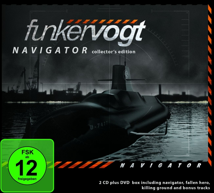 FUNKER VOGT Navigator - Collector's Edition 2CD+DVD Digipack 2017