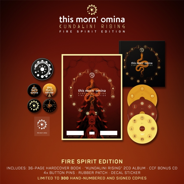 THIS MORN OMINA Kundalini Rising (Fire Spirit Edition) 2017 LTD.300