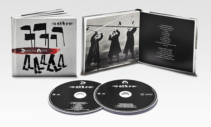 DEPECHE MODE Spirit (Deluxe Edition) 2CD DigiBook 2017