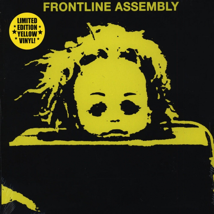 FRONT LINE ASSEMBLY State Of Mind LIMITED LP YELLOW VINYL 2016