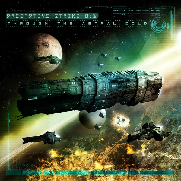 PREEMPTIVE STRIKE 0.1 Through the Astral Cold CD Deluxe DigiBook 2017 LTD.200