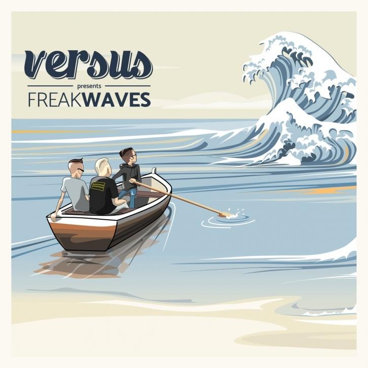 VERSUS Freakwaves LIMITED CD Digipack 2017