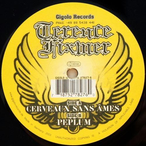 "TERENCE FIXMER Cerveaux Sans Ames 12"" VINYL 2003 NITZER EBB"