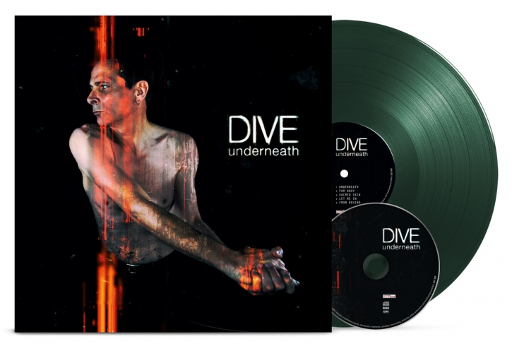DIVE Underneath LIMITED GREEN VINYL+CD 2017
