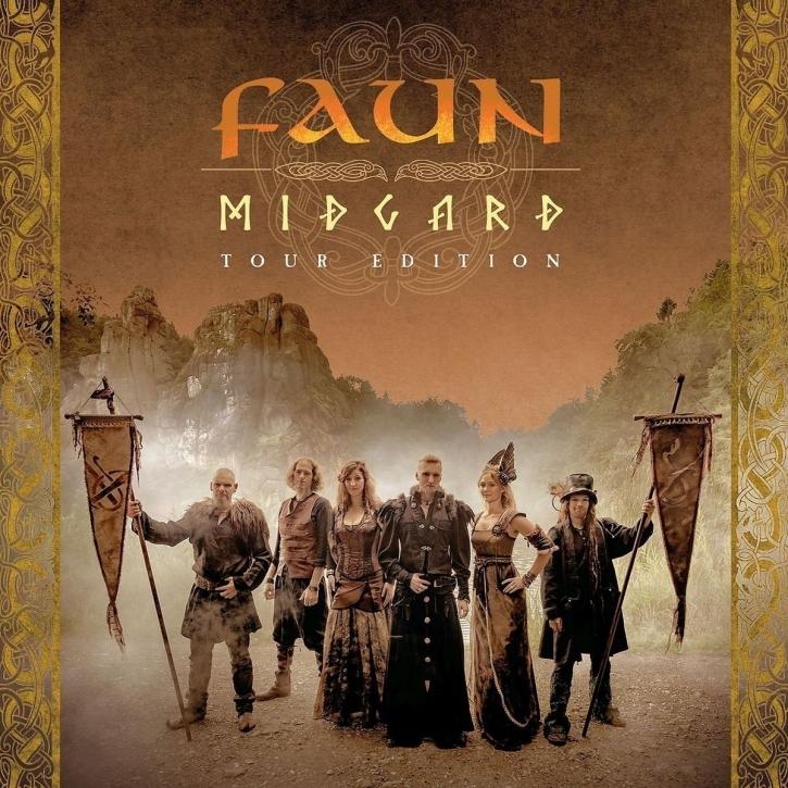 FAUN Midgard (Tour Edition) 2CD Digipack 2017