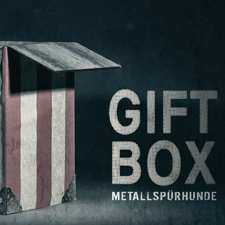 METALLSPÜRHUNDE Giftbox CD Digipack 2017