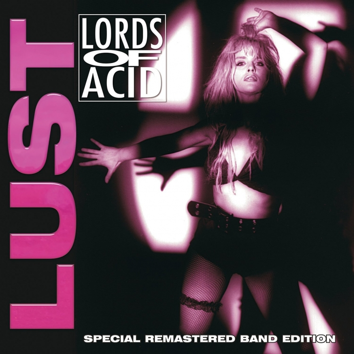 LORDS OF ACID Lust (Special Remastered Band Edition) LIMITED 2LP VINYL 2017