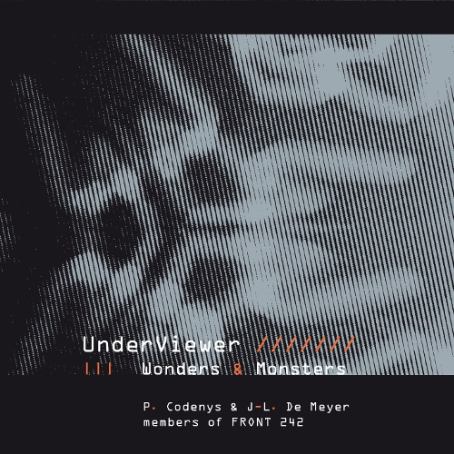 UNDERVIEWER Wonders and Monsters [2nd edition] CD Digipack 2017 FRONT 242