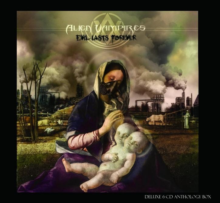ALIEN VAMPIRES Evil Lasts Forever 6CD BOX 2017