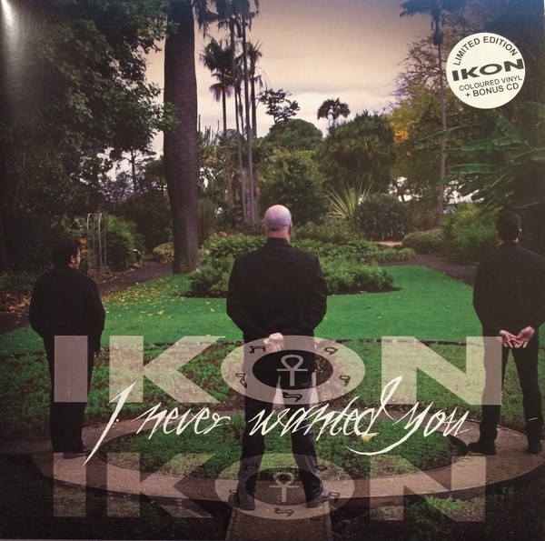 "IKON I Never Wanted You LIMITED 7"" CLEAR VINYL+CD 2017"