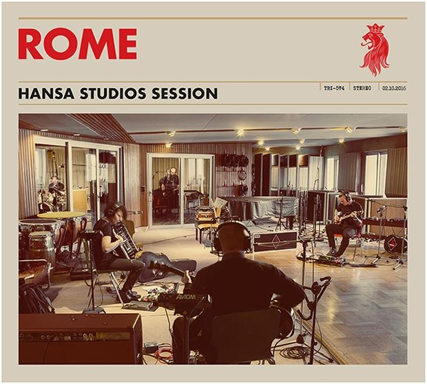 ROME Hansa Studios Session CD Digipack 2017