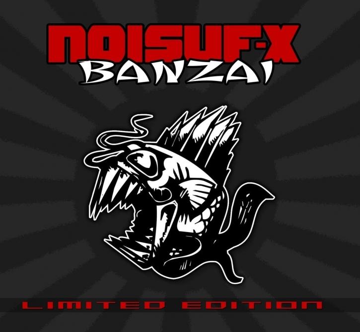 NOISUF-X Banzai LIMITED CD Digipack 2017