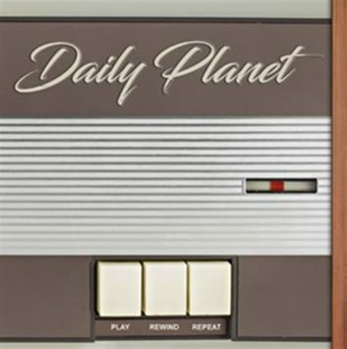 DAILY PLANET Play Rewind Repeat CD 2017