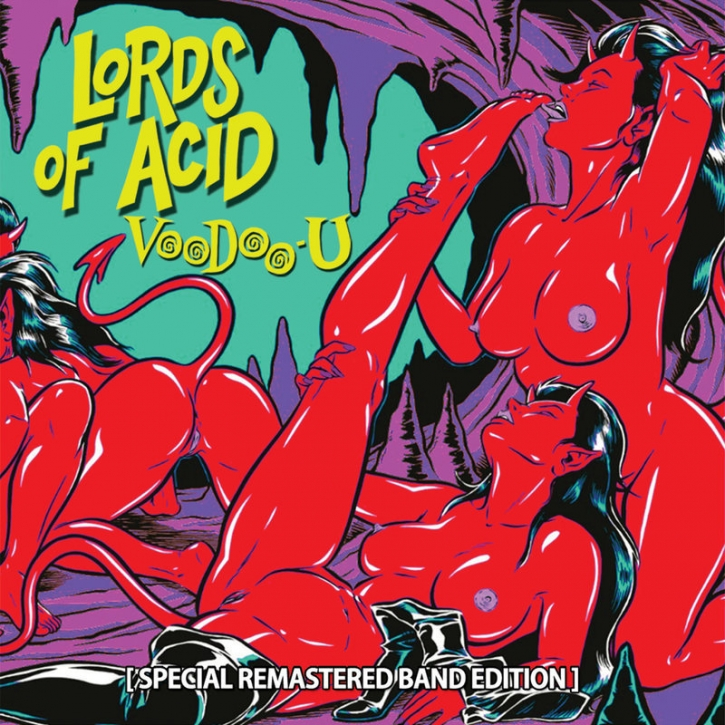 LORDS OF ACID VooDoo-U (Special Remastered Band Edition) LIMITED 2LP VINYL 2017