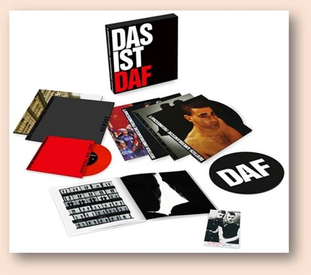 "D.A.F. Das ist DAF LIMITED 5LP + 7"" VINYL BOX 2017"
