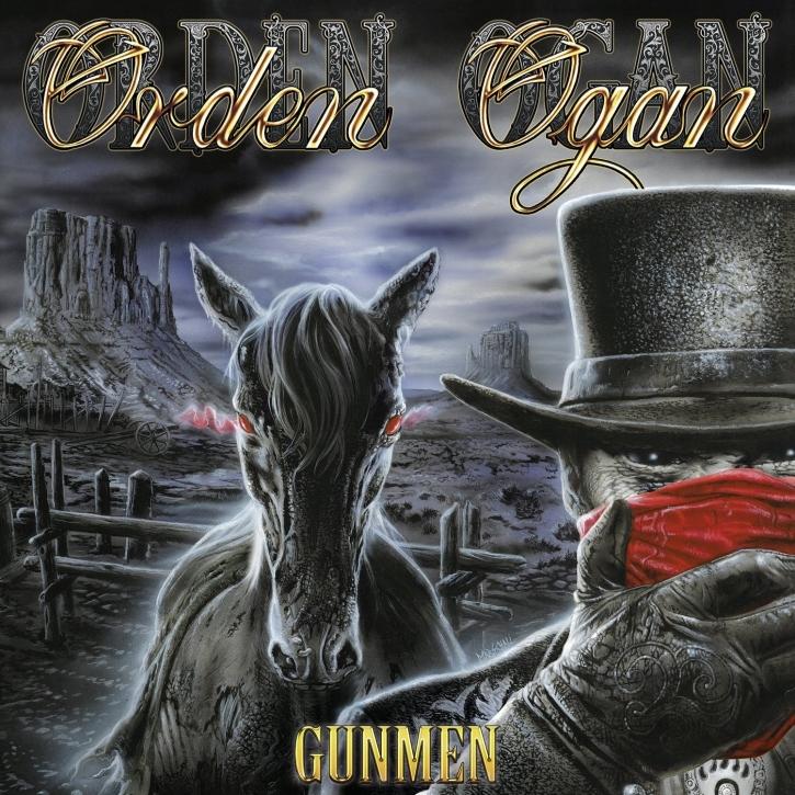 ORDEN OGAN Gunmen LIMITED CD+DVD Digipack 2017