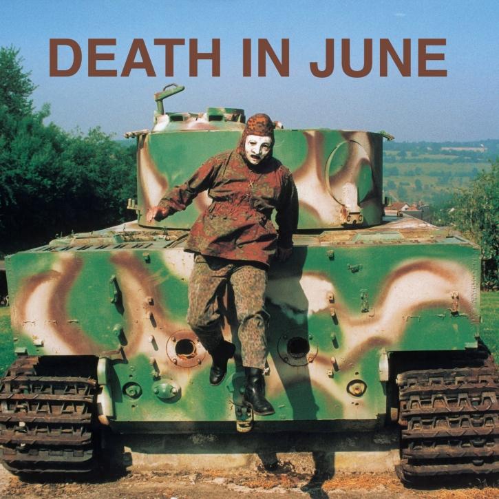 DEATH IN JUNE Abandon Tracks CD 2017
