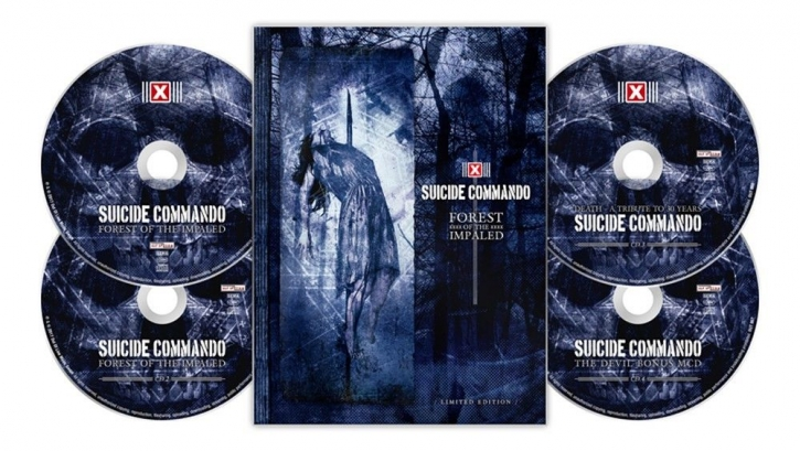 SUICIDE COMMANDO Forest Of The Impaled LIMITED 4CD BOX 2017