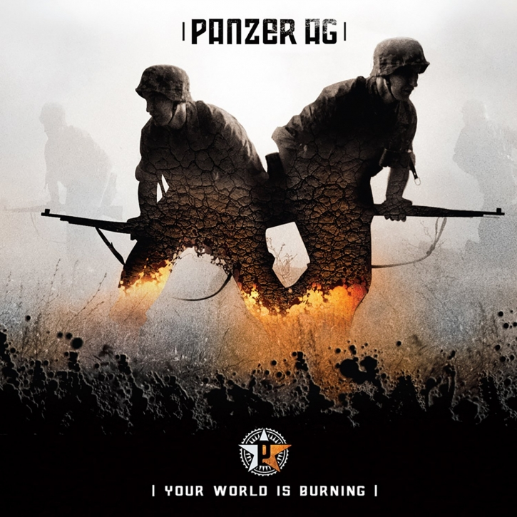 PANZER AG Your World Is Burning CD 2006 COMBICHRIST